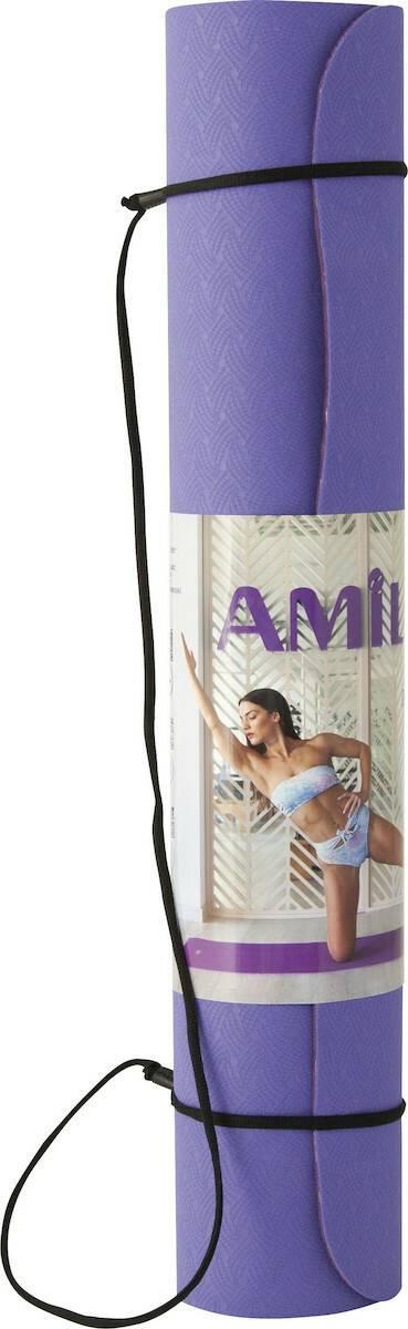 Στρώμα Pilates 173x60cm x 4mm Amila 81771 -