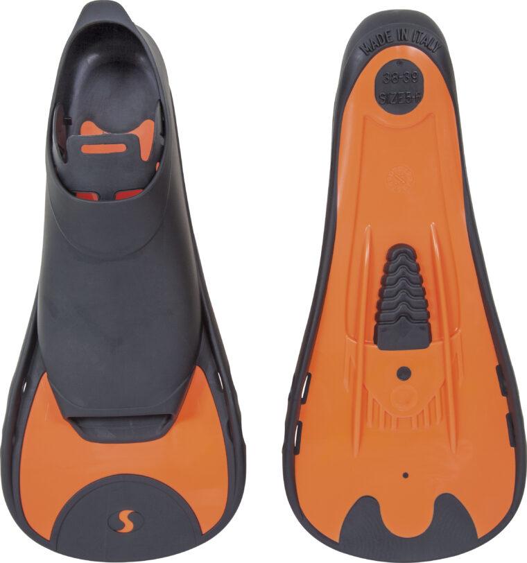 Βατραχοπέδιλα Κοντά Salvas F5 Πορτοκαλί 36-37