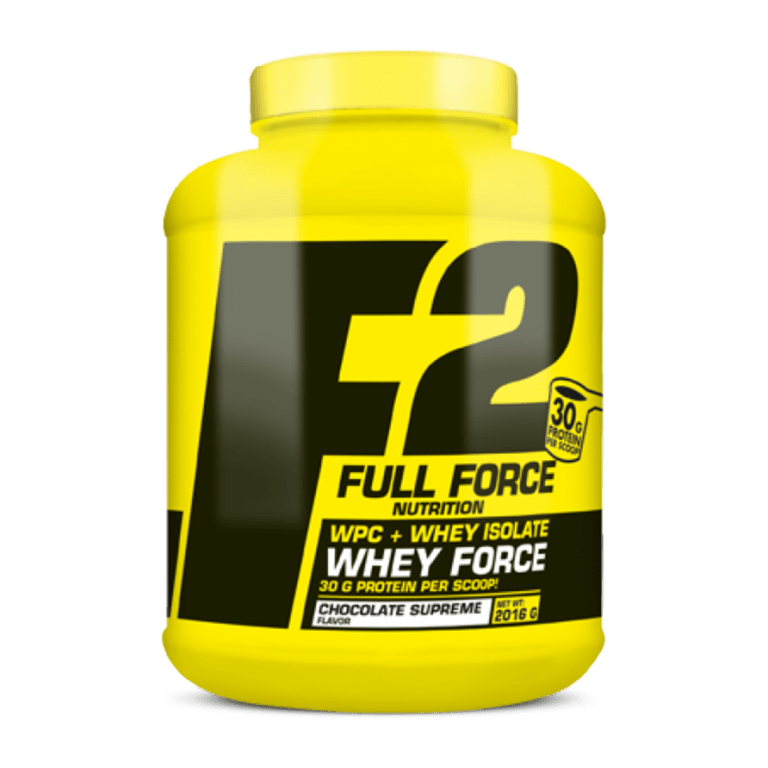 Full Force Nutrition Whey Force 2016g - Πρωτεΐνη Ορού Γάλακτος Whey
