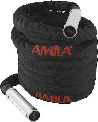 Battle Rope Amila με χερούλια αλουμινίου (15m) -