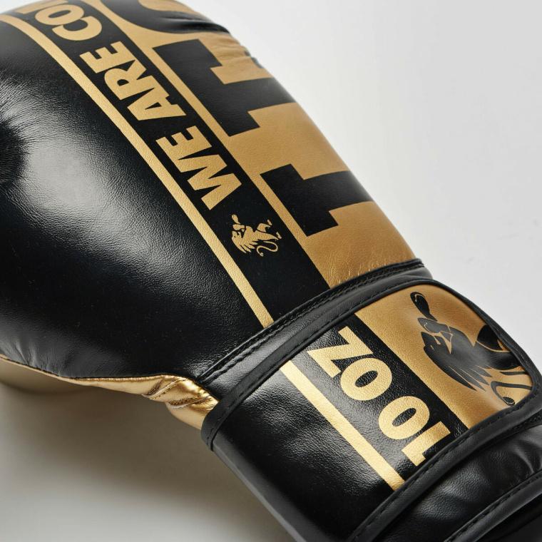 Leone Γάντια Μποξ Nexplosion Black/Gold - KALH3