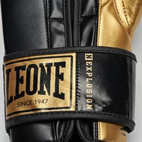Leone Γάντια Μποξ Nexplosion Black/Gold - KALH4