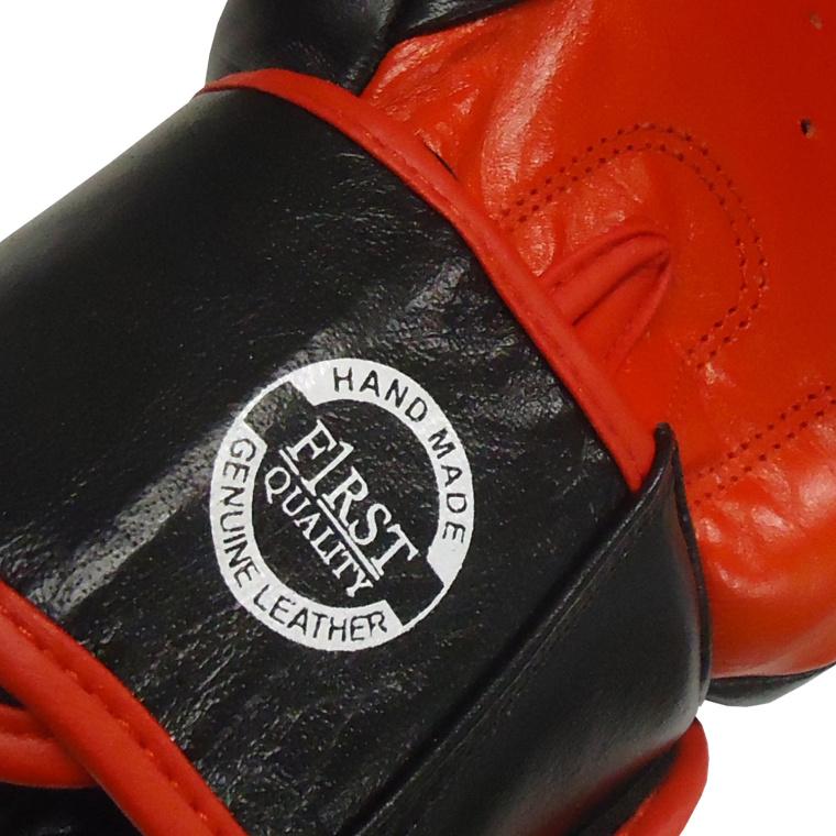 Πυγμαχικά Γάντια Olympus MUYATHAI Σχεδιασμό Μαύρο/Κόκκινο