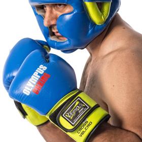 Πυγμαχικά Γάντια Olympus PRO Μεξικάνικο Στυλ Διαγώνιο Velcro Δέρμα - Γάντια Olympus PRO Μεξικάνικο Στυλ Διαγώνιο Velcro Δέρμα 4