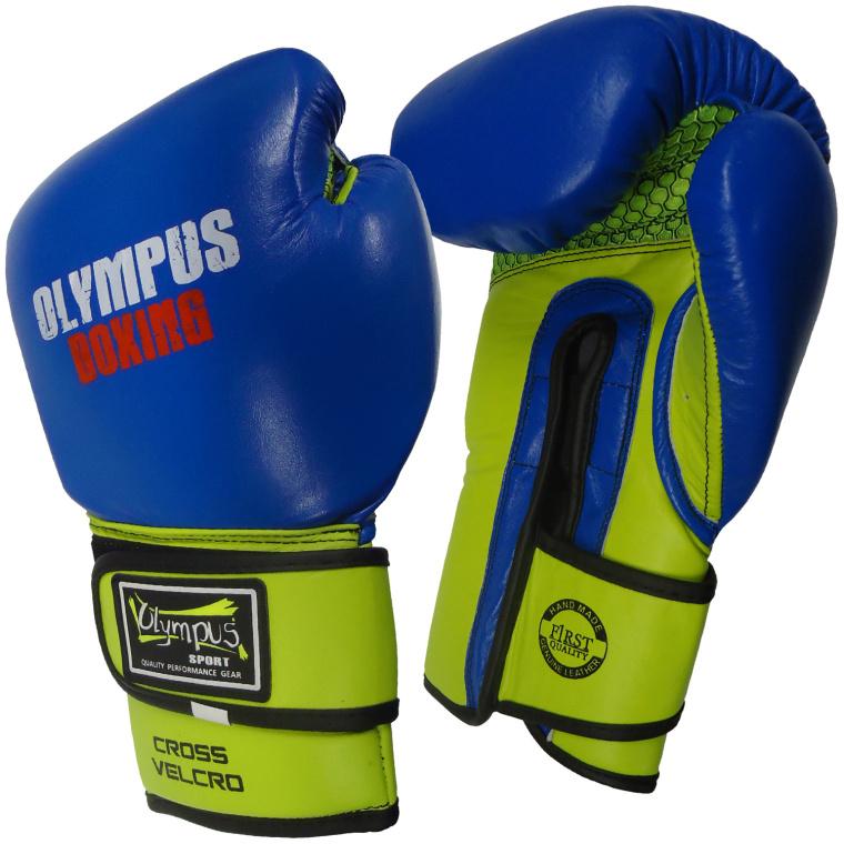 Πυγμαχικά Γάντια Olympus PRO Μεξικάνικο Στυλ Διαγώνιο Velcro Δέρμα - Γάντια Olympus PRO Μεξικάνικο Στυλ Διαγώνιο Velcro Δέρμα 5