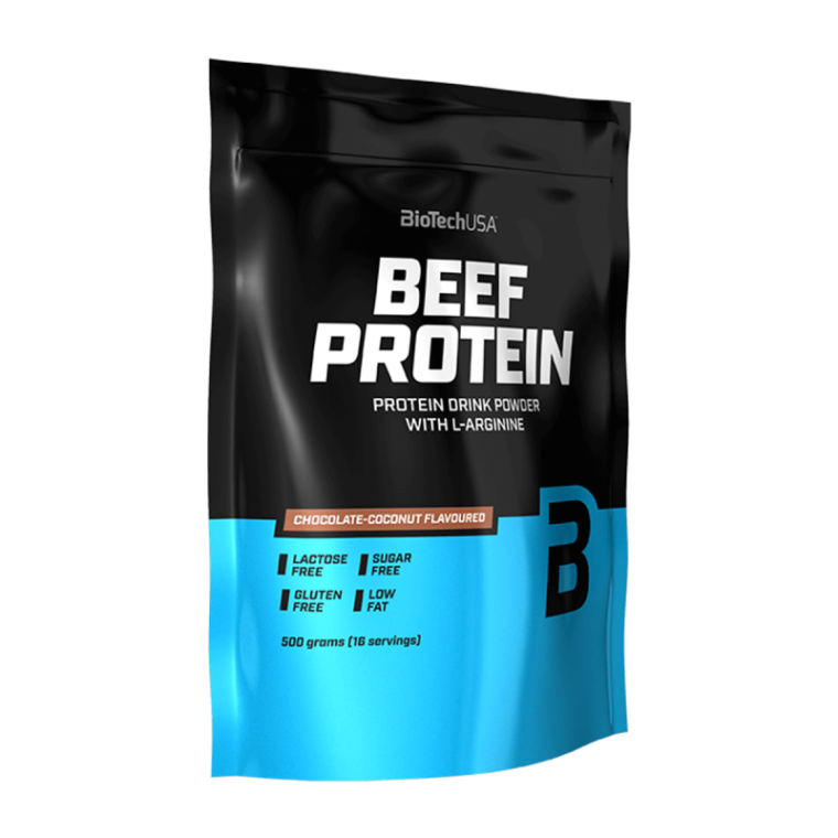 Biotech USA Beef Protein 500gr  Πρωτεΐνες > Πρωτεΐνες Μοσχαριού (Beef)