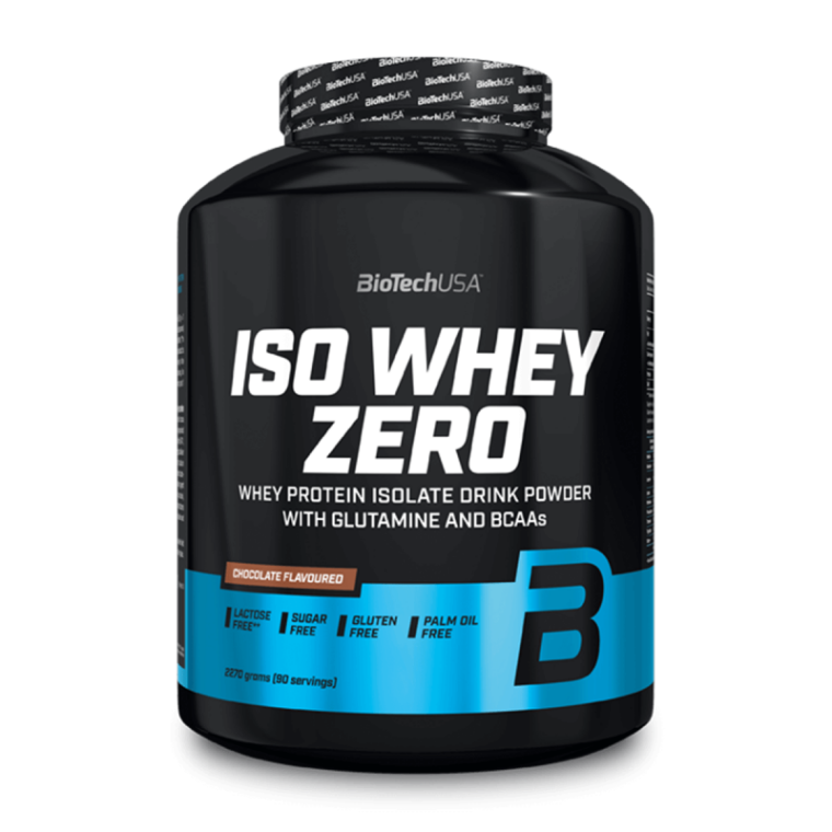 Biotech USA Iso Whey Zero 2270gr Lactose Free  Πρωτεΐνες > Πρωτείνες Απομονωμένου Ορού Γάλακτος (Isolate)