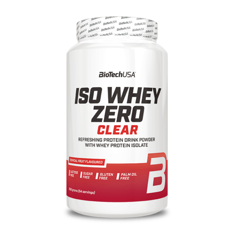 Biotech USA Iso Whey Zero Clear 1362gr  Πρωτεΐνες > Πρωτείνες Απομονωμένου Ορού Γάλακτος (Isolate)