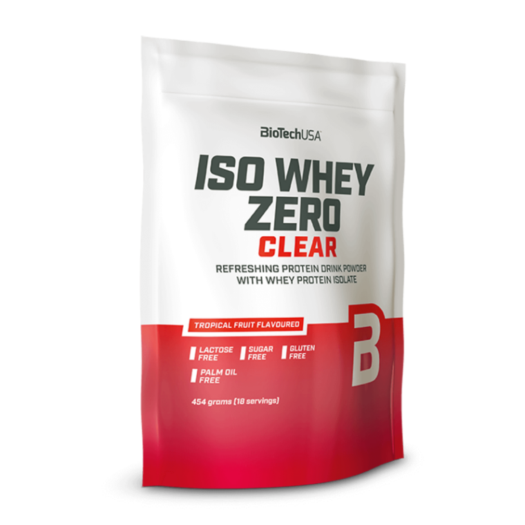 Biotech USA Iso Whey Zero Clear 454gr  Πρωτεΐνες > Πρωτείνες Απομονωμένου Ορού Γάλακτος (Isolate)