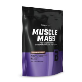 Biotech USA Muscle Mass 1000gr  Πρωτεΐνες > Πρωτεΐνες Όγκου (Gainers)