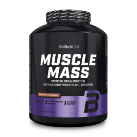 Biotech USA Muscle Mass 4000gr  Πρωτεΐνες > Πρωτεΐνες Όγκου (Gainers)