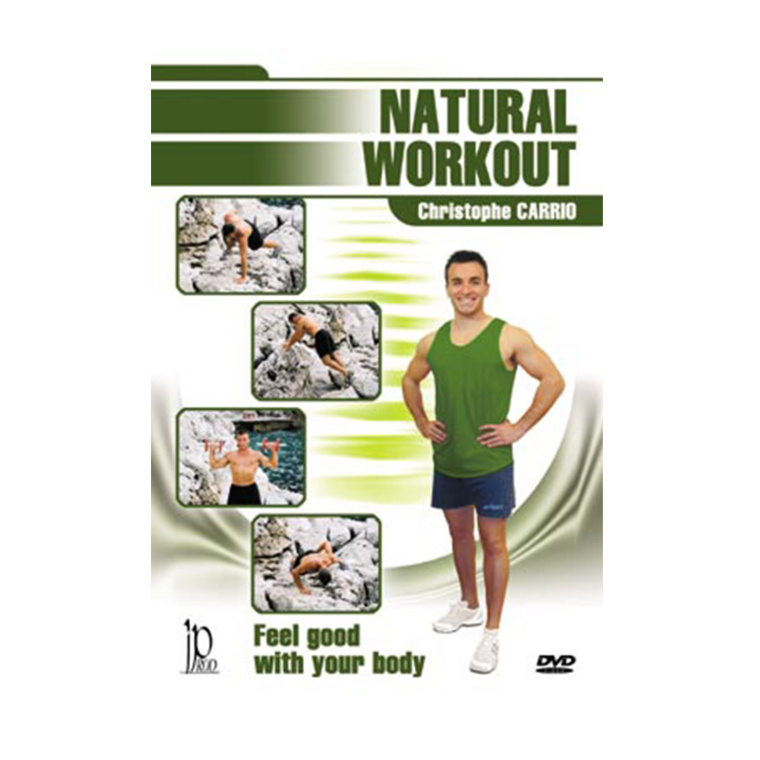 DVD.087 - NATURAL WORK OUT WITH CHRISTOPHE CARRIO
