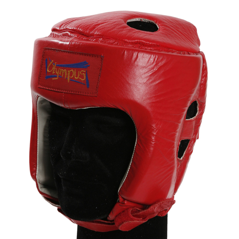 Head Guard Olympus - Competition Thai Leather - Head Guard Olympus Competition Thai Leather 4