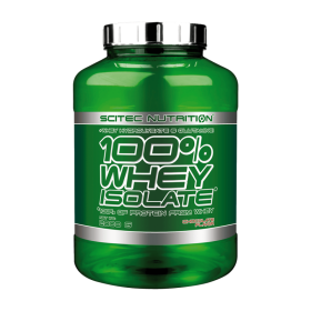 Scitec Nutrition 100% Whey Isolate 2000g  Πρωτεΐνες > Πρωτείνες Απομονωμένου Ορού Γάλακτος (Isolate)