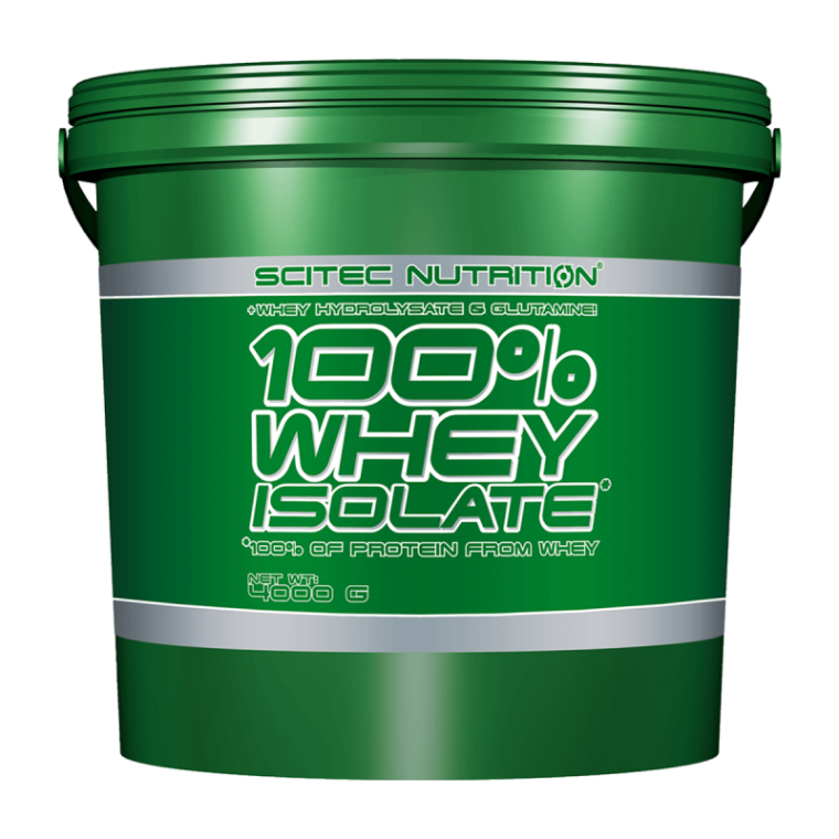Scitec Nutrition 100% Whey Isolate 4000g  Πρωτεΐνες > Πρωτείνες Απομονωμένου Ορού Γάλακτος (Isolate)
