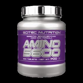 Scitec Nutrition Amino 5600 500 Tabl. Αμινοξέα > Φόρμουλες Αμινοξέων > Κάψουλες / Ταμπλέτες
