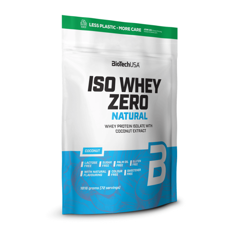 Biotech USA Iso Whey Zero Natural 1816gr Lactose Free  Πρωτεΐνες > Πρωτείνες Απομονωμένου Ορού Γάλακτος (Isolate)