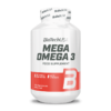 Biotech USA Mega Omega 3 180 Softgels Βιταμίνες & Υγεία > Λιπαρά Οξέα (CLA/Ω3)